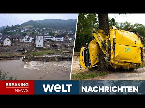 FLUTKATASTROPHE in NRW und Rheinland-Pfalz: Damm gebrochen - Über 130 Tote   WELT Newsstream