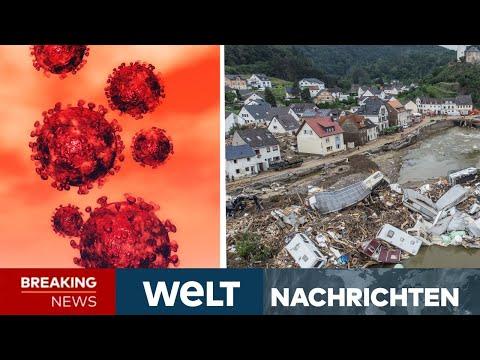 UNWETTERKATASTROPHE in Deutschland: Corona! Jetzt wächst die Angst vor Krankheiten   WELT Newsstream