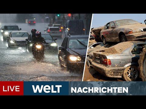 STARKREGEN & UNWETTER in Deutschland & Europa: Katastrophenschutz unter Druck   WELT Newsstream