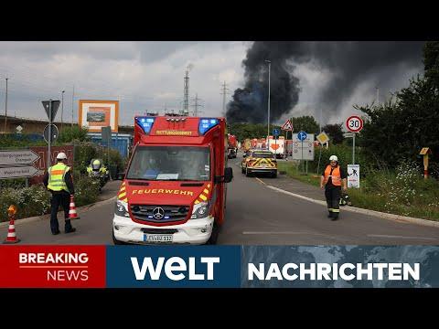 SCHWERE EXPLOSION in LEVERKUSEN: 31 Verletzte, ein Toter - Leichte Entwarnung   WELT Newsstream
