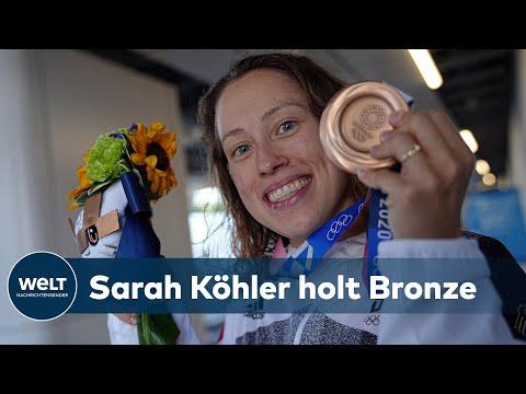 """OLYMPIA: Bronze für Sarah Köhler – """"Das war ein grandioses Rennen"""""""