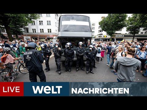 QUERDENKER IGNORIEREN GERICHTE: Corona-Leugner provozieren mit Demos in Berlin   WELT Newsstream