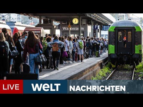 FRUST BEI BAHNREISENDEN: Heftiger Streik löst Chaos bei Deutscher Bahn aus  | WELT Newsstream