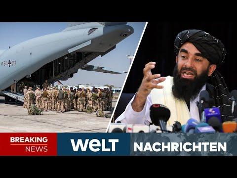 FLUCHT aus AFGHANISTAN: Planen TALIBAN Vergeltung? Erste Deutsche evakuiert | WELT Newsstream