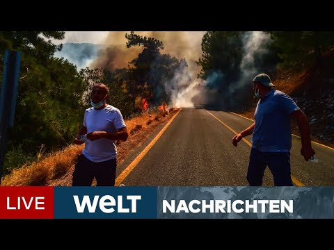EUROPA BRENNT: Bedrohliche Feuer in Türkei, Italien und Griechenland   WELT Newsstream