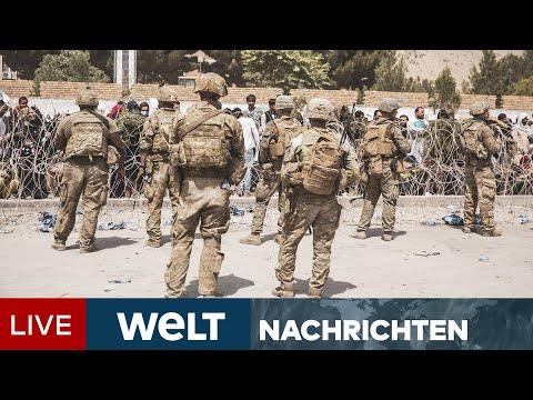 KOMMANDOEINSATZ IN KABUL: KSK rettet deutsche Familie - Gefechte am Flughafen   WELT Newsstream