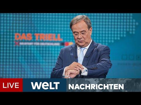 TV-TRIELL: Für Laschet wird Zeit knapp - Kampf ums Kanzleramt tritt in heiße Phase   WELT Newsstream