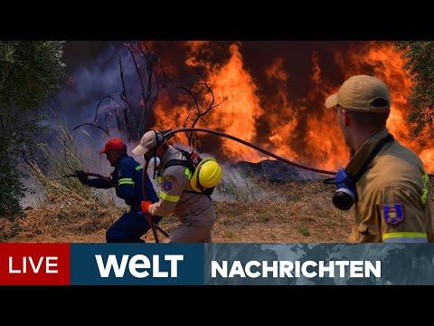 FEUERHÖLLE am MITTELMEER: Drei neue Brandherde pro Stunde   WELT Newsstream