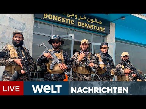 TALIBAN ENTSPANNT: Islamisten feiern Sieg - Heftige Kritik an US-Präsident Biden | WELT Newsstream