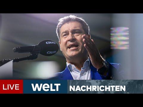 DRUCK AUF SÖDER STEIGT: Umfrage-Desaster - Es brodelt heftig in der CSU | WELT Newsstream