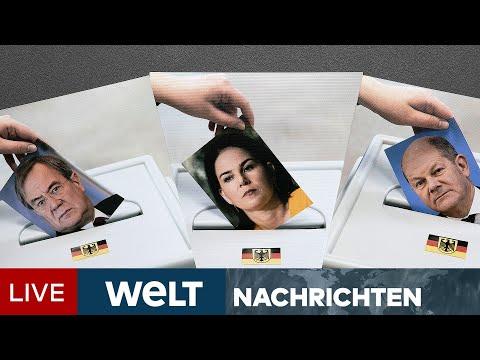 BUNDESTAGSWAHL 2021: Nach Frontalangriff von Laschet! Spannung vor dem TV-Triell   WELT Newsstream