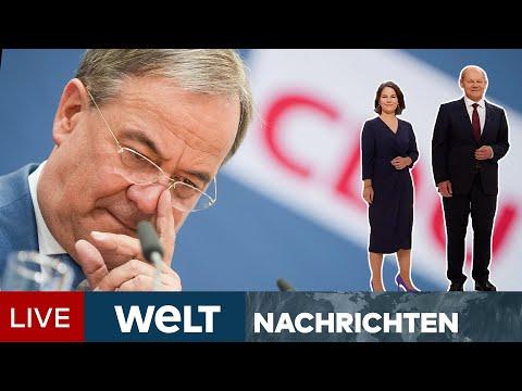 ALL-IN-WAHLKAMPF: LASCHET im ANGRIFFSMODUS - Schafft die CDU die Trendwende? | WELT Newsstream