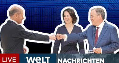 BUNDESTAGSWAHL 2021: Kopf-an-Kopf-Rennen! Laschet verringert Abstand auf Scholz | WELT Newsstream