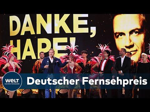 DEUTSCHER FERNSEHPREIS: Hape Kerkeling, Joko Winterscheidt und Markus Lanz räumen ab