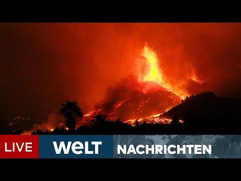 VULKANAUSBRUCH AUF LA PALMA: Sechs Meter hohe Lavaströme! Alarm auf Kanareninsel   WELT Newsstream