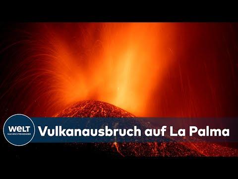 TRAGISCHES NATURSPEKTAKEL: Ausgebrochener Vulkan spuckt Feuer und Asche