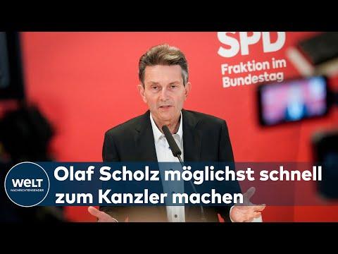 """SPD FRAKTIONSCHEF MÜTZENICH: """"Deutschland braucht keine Fotos, sondern eine Regierung"""""""