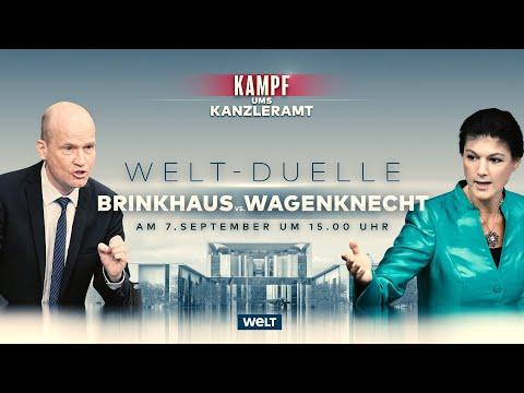 BUNDESTAGSWAHL 2021: Überraschend viel Übereinstimmung bei Brinkhaus und Wagenknecht | Reupload