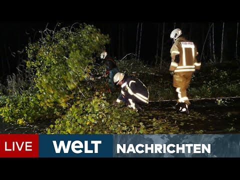 STURMTIEF IGNATZ: Erster heftiger Herbststurm tobt sich über Deutschland aus   WELT Newsstream
