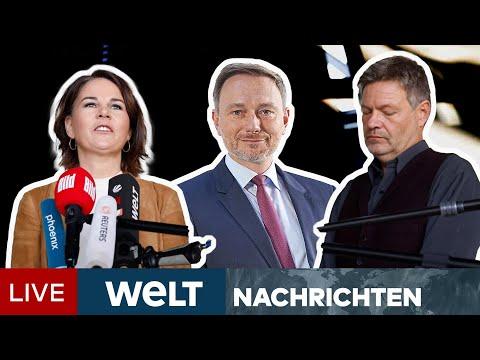 DREIERGESPRÄCH MIT SPD: FDP nimmt Vorschlag der Grünen an - Start am Donnerstag | WELT Newsstream