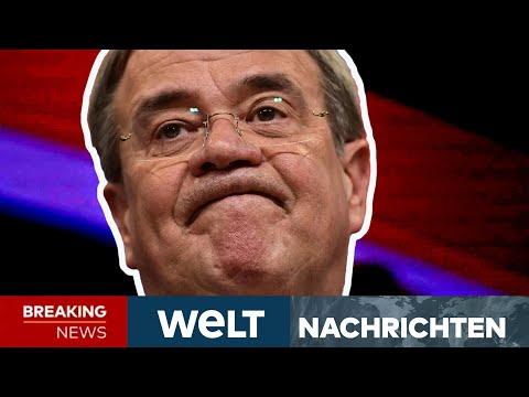 ARMIN LASCHET: CDU-CHEF deutet seinen Rückzug an - Sondierung zur Ampel-Koalition   WELT Newsstream