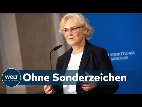 EINHEITLICHES GENDERN: Behörden sollen in Zukunft einheitlich gendern fordert Christine Lambrecht