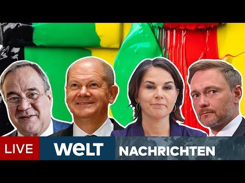 MACHTKAMPF ums Kanzleramt: KOALITIONSGERAGEL zwischen UNION, SPD, GRÜNE & FDP   WELT Newsstream